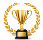 Red Trophy Icon